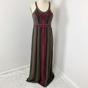 Athleta Maxi Sleeveless Dress Size XL